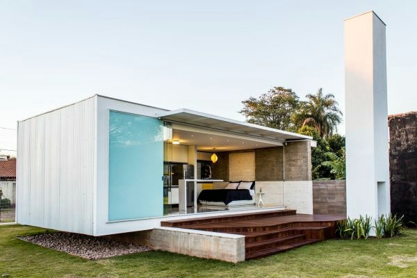 Awesome Unique House In Brazil Only 45 Square Meters Interior Design Free Home  Designs Photos Ideas
