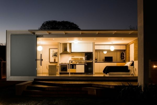 Unique house in brazil only 45 square meters interior for 45 square meter house interior design