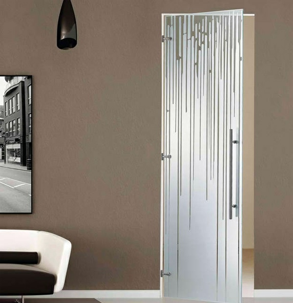 Interior doors made from glass modern aesthetic glass - Contemporary glass doors interior ...