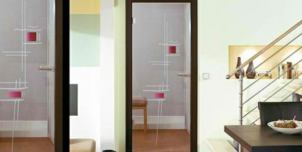 Interior Doors Made From Glass Modern Aesthetic Glass Doors