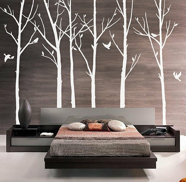 modern wall decal wall design trends 2014 interior 2015 butterfly vine flower wisteria art wall sticker decal