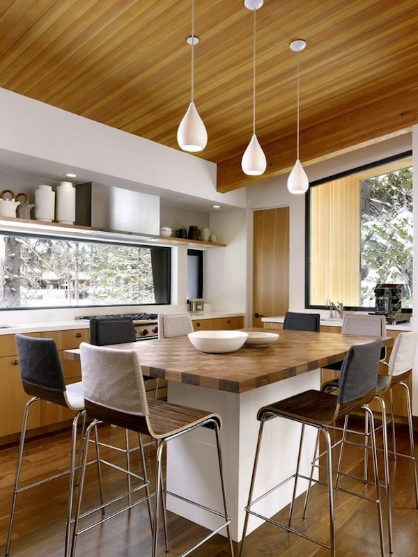 Search for the perfect pendant lights for your kitchen interior design ideas avso org for Eat in kitchen designs for small kitchen