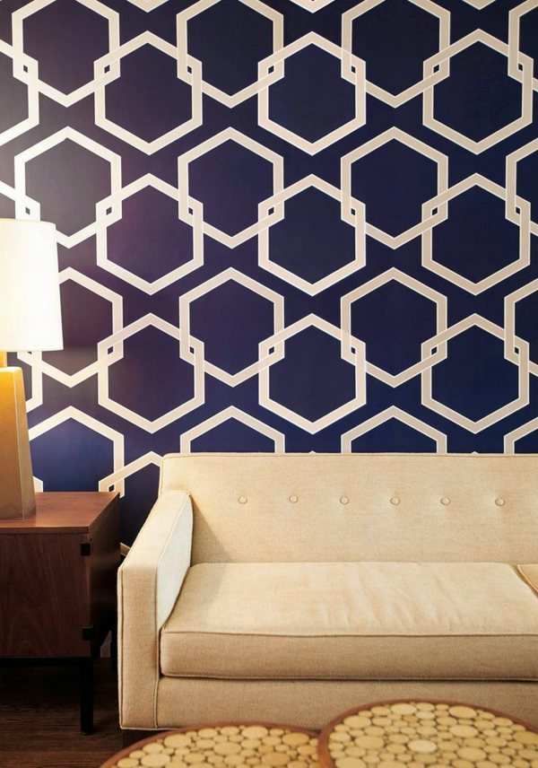 Blue Wallpaper – The Perfect Piped In Each Room | Interior Design