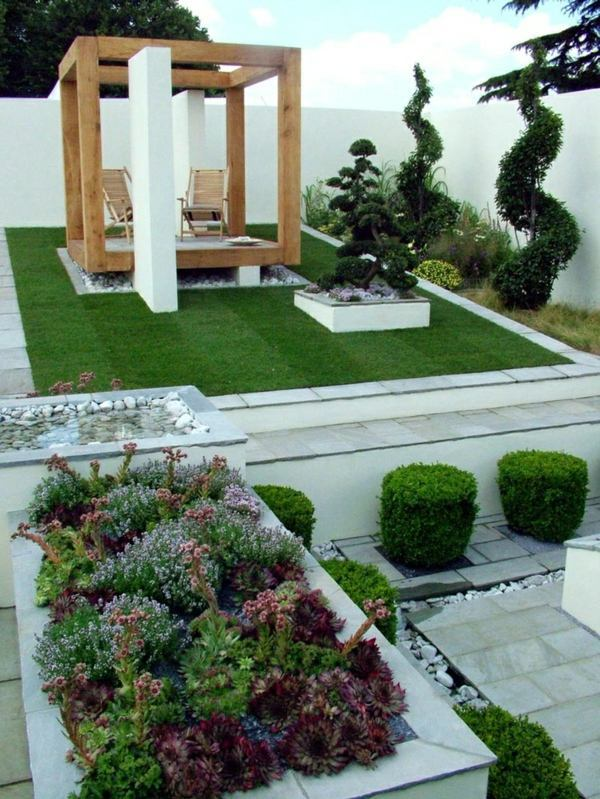 25 trendy ideas for garden and landscape modern garden for Contemporary garden designs and ideas