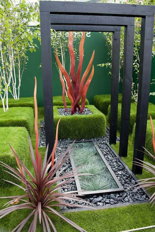 25 trendy ideas for garden and landscape modern garden for Indoor garden design uk
