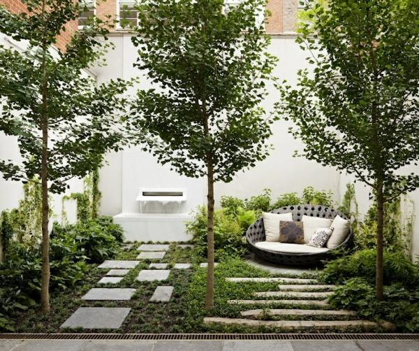 trees in the garden are the screen 25 trendy ideas for garden and landscape modern garden design