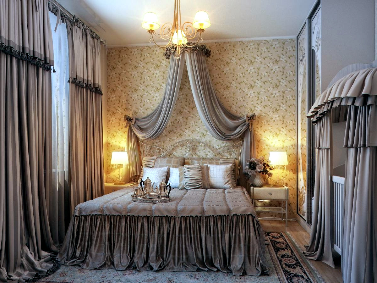 bedroom with traditional elegance | interior design ideas | avso