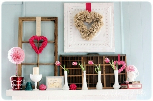 Dekoration - DIY Valentine's Day gifts and decorations - great ideas for you