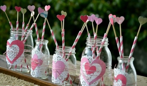 DIY Deko - DIY Valentine's Day gifts and decorations - great ideas for you