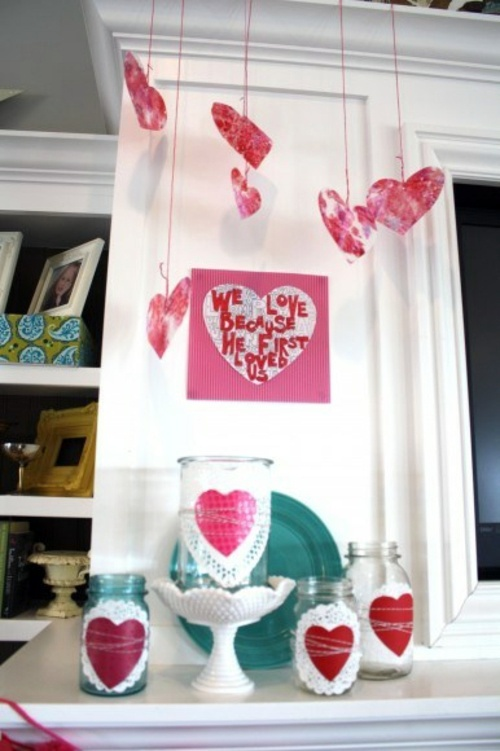 DIY Valentine's Day gifts and decorations - great ideas for you