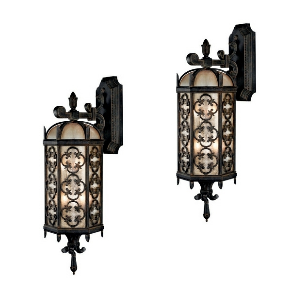Antique Outdoor Wall Lamps : 17 antique wall lights outdoor lamps in the garden Interior Design Ideas AVSO.ORG