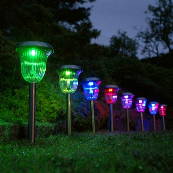 Garden Solar Lights Ideas : Solar lights in the garden how one chooses right