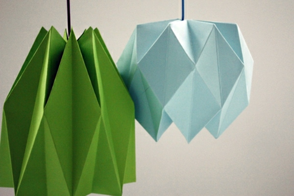 Origami Lampshade Instructions For DIY Enthusiasts
