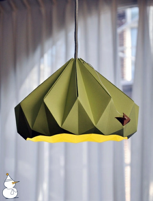 Origami lampshade instructions for diy enthusiasts interior olive origami lampshade instructions for diy enthusiasts aloadofball Image collections