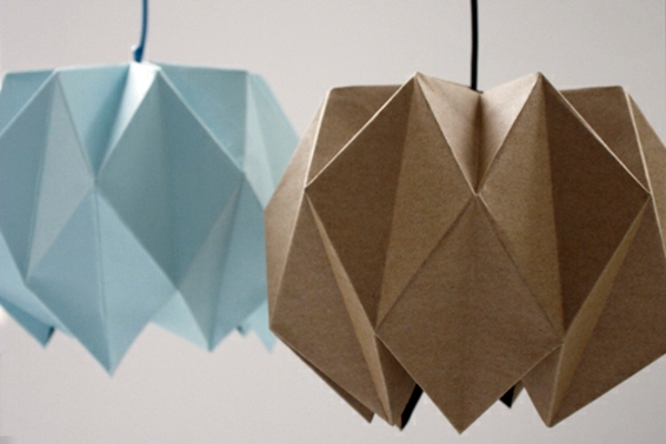 origami lampshade  u2013 instructions for diy enthusiasts