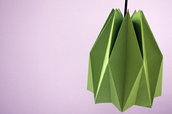 Origami lampshade instructions for diy enthusiasts interior origami lampshade instructions for diy enthusiasts aloadofball