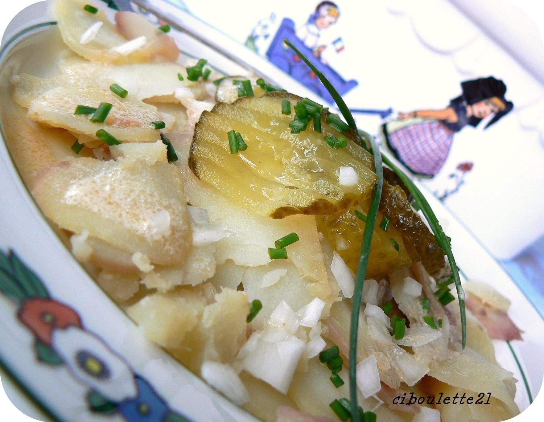 Apple salad Alsatian Country