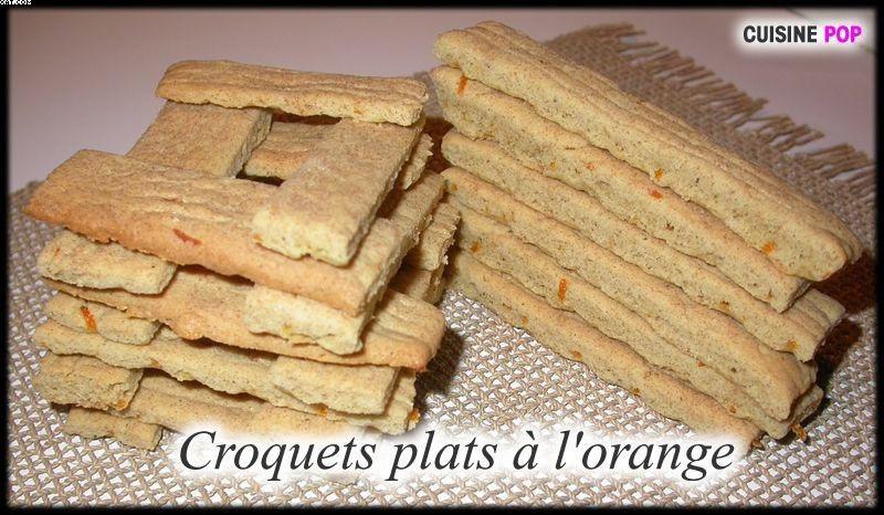Croquettes dishes Orange