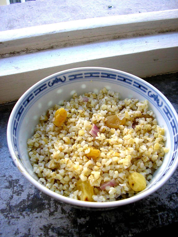 Ethiopian Bulgur Salad