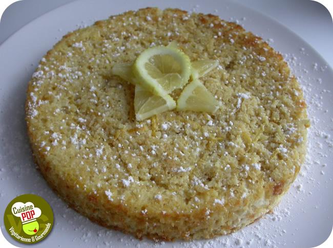 Quinoa Lemon Cake