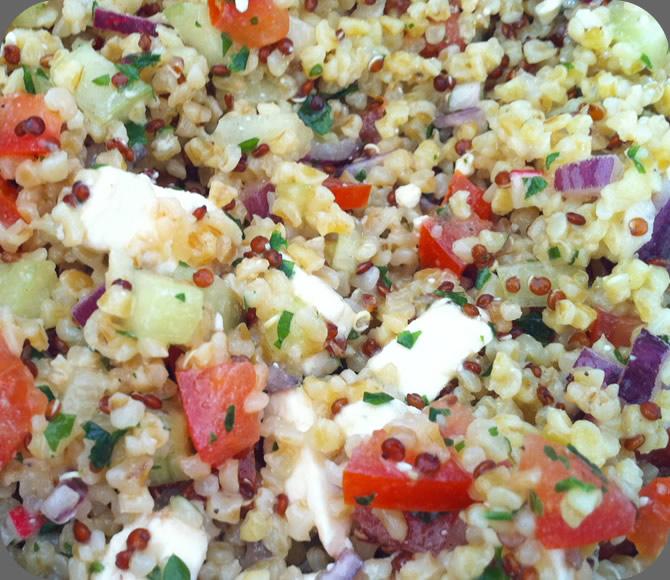 Quinoa Salad Bulgur