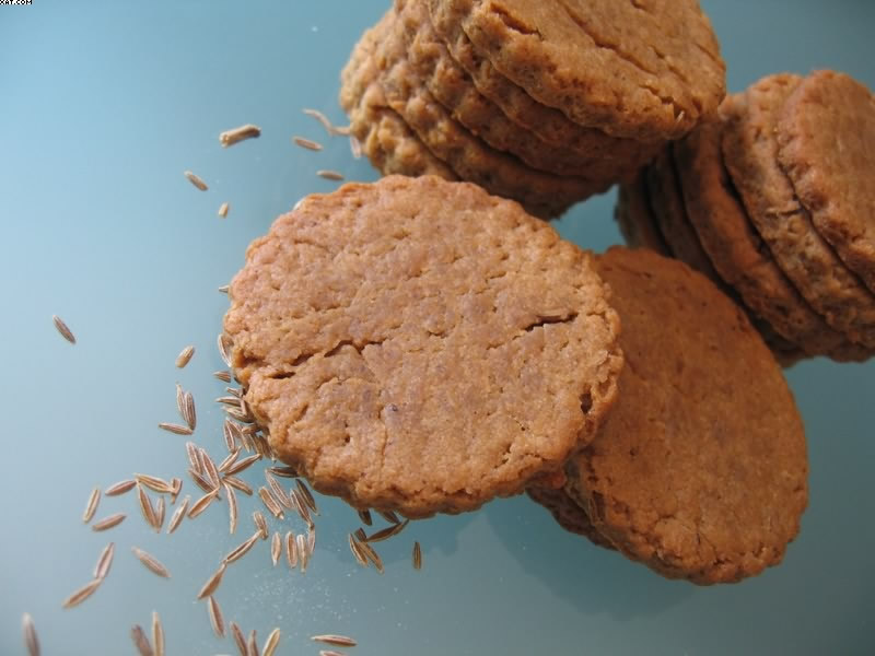 Vanilla biscuits cumin Busch