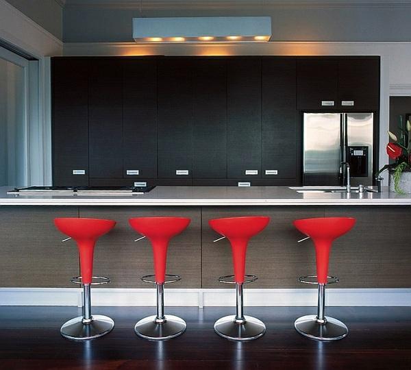 Be inspired by velvet for your kitchen breakfast bar decor ...