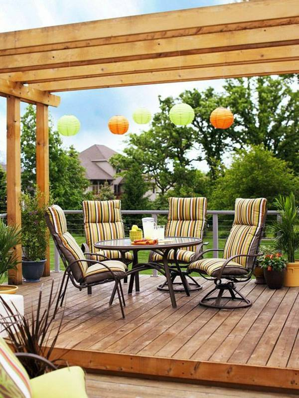 How to build a pergola yourself - Instructions and Photos ...