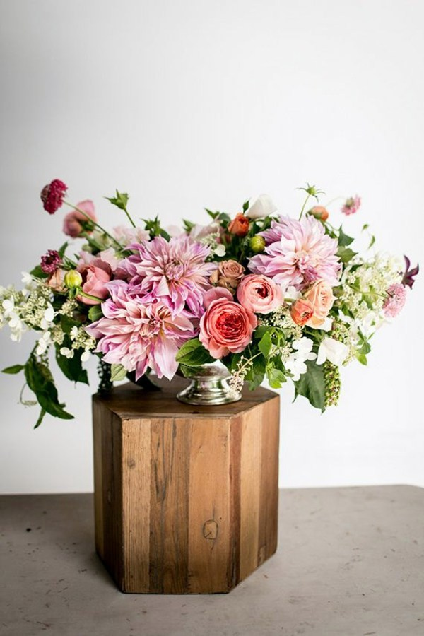 Insert Autumn Flowers As Table Decoration Or Home Great