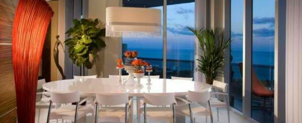 Modern dining room 15 stylish examples as inspiration for Dining room design examples