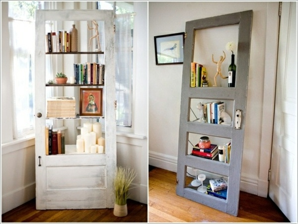 Old Doors Re Use Diy Wooden Furniture Interior Design
