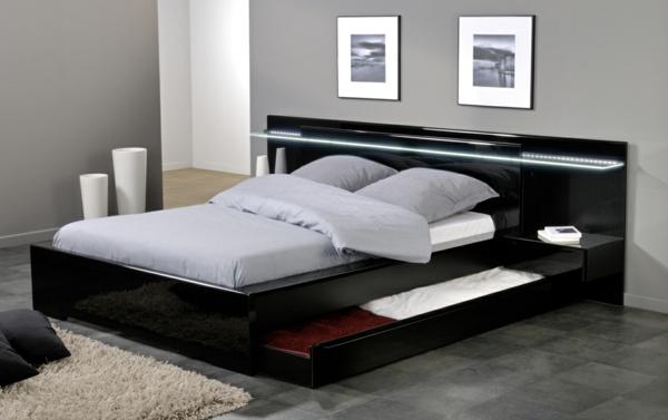 Platform Beds With Drawers Storage Ideas Interior