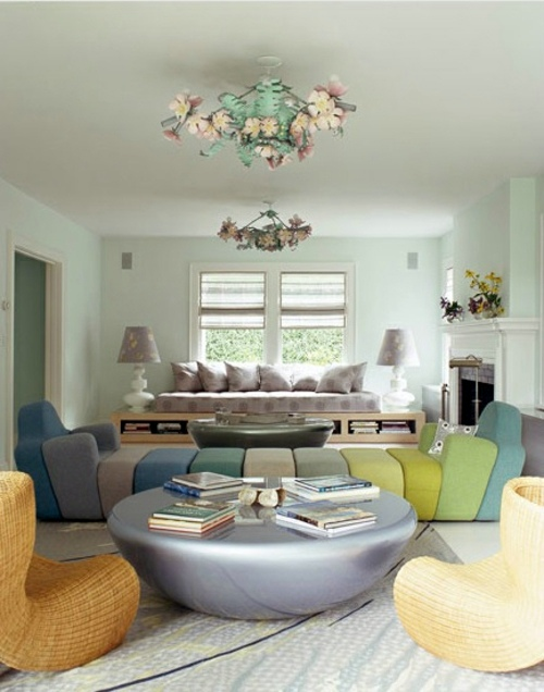 The fabulous living room designs of Muriel Brandolini