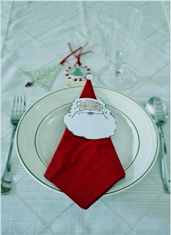 Napkin Folding Christmas.Paper Napkin Folding Instructions Create Festive