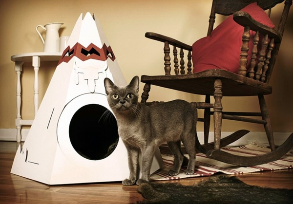 Cat Furniture Design – fun, creative cats Hide | Interior