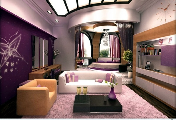 15 beautiful purple bedroom - a paradise for the eyes ...