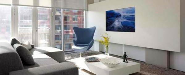 Einrichtungsideen - TV room wall in modern living room - 15 Inspiring Examples