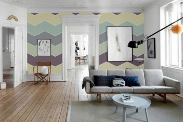 Farben - Pastel tones as wall colors soften the ambience at home