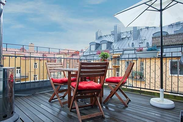 Small balcony dining room designs - Cool ideas for outdoor dining