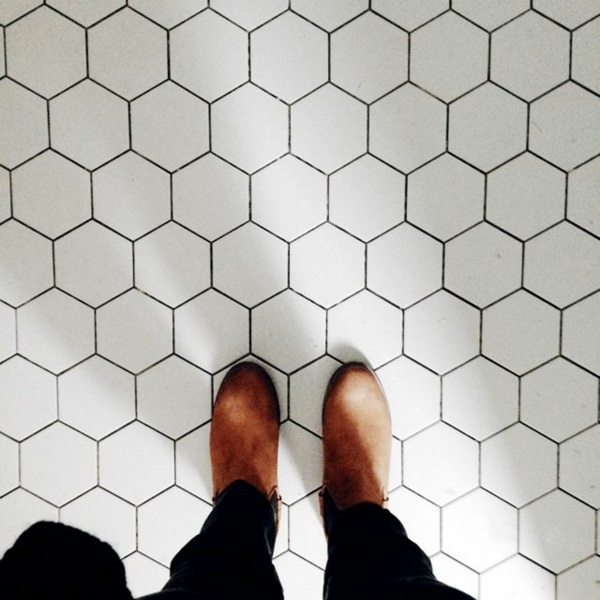 Fliesen - Clean Porcelain Tiles - how to make with home remedies?