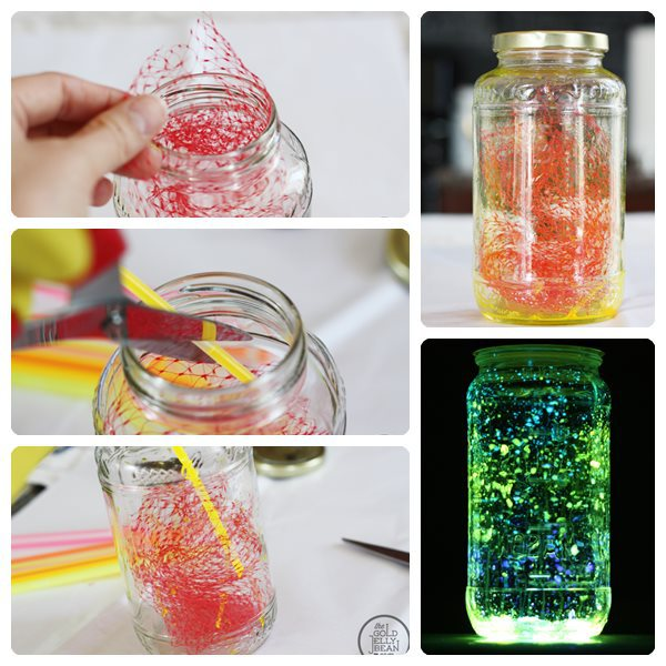 DIY - Do it yourself - DIY Projects - great shiny DIY Decoration of glasses