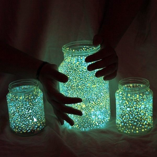 DIY Projects - great shiny DIY Decoration of glasses
