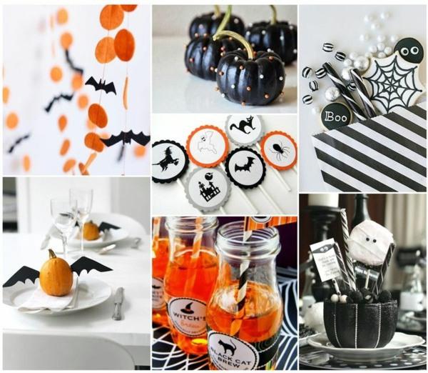 Bastelideen - Halloween Decoration tinker and create a festive mood