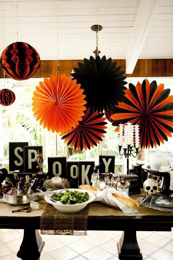 Dekoration - Halloween Decoration tinker and create a festive mood