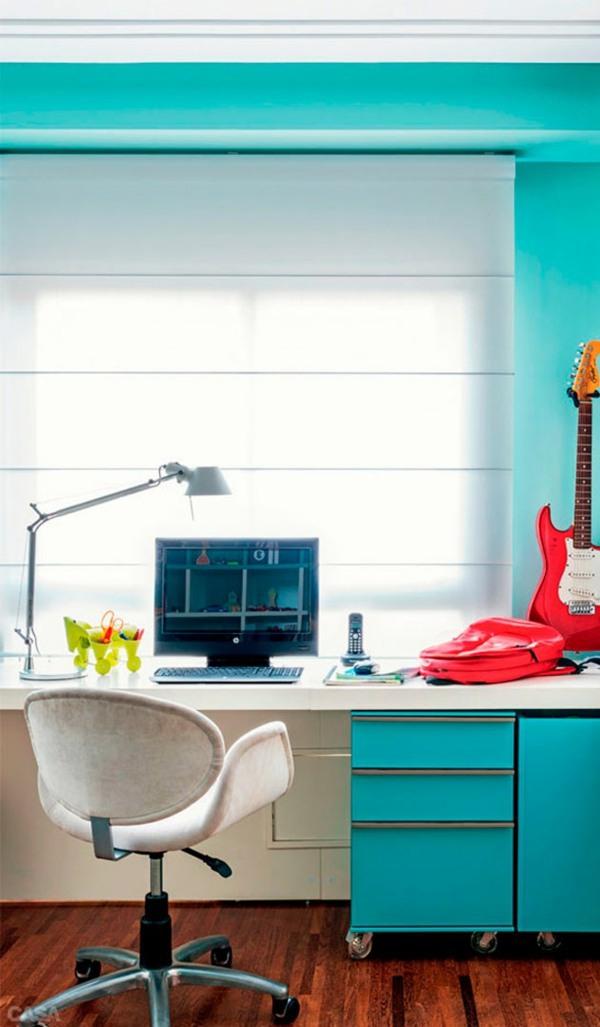 Kinderzimmer - Nursery for boys - colored furnishing ideas