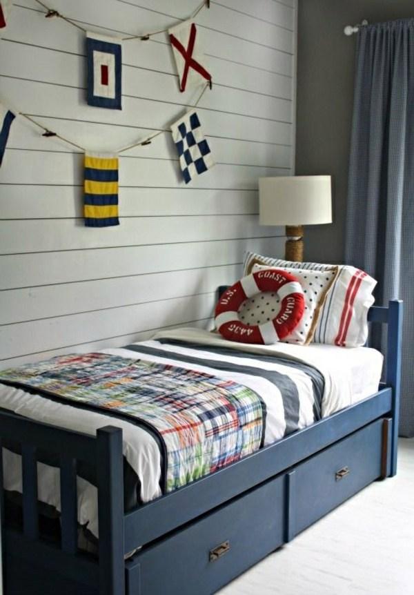 Nursery for boys - colored furnishing ideas