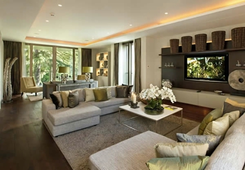The living room attractive set - 70 designs, you have to see absolutely