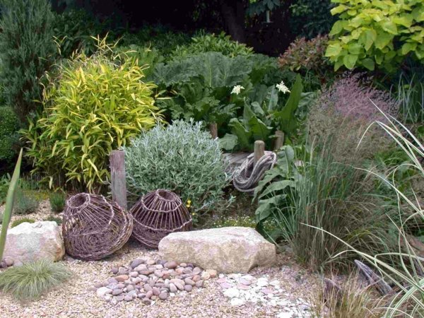Landscaping with gravel and stones - 25 garden ideas for you