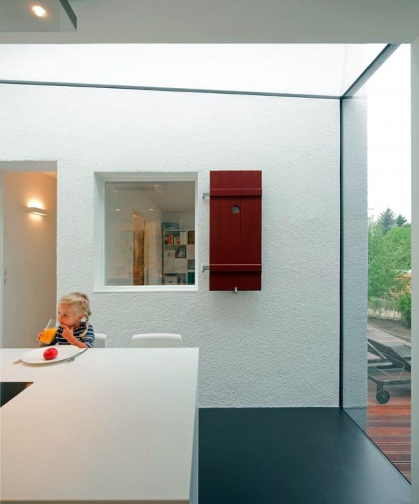 Modern Home Extension - conversion of a traditional German house
