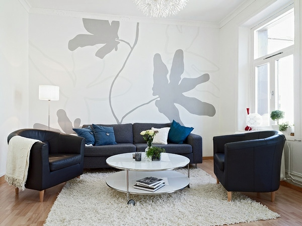 Wanddekoration - Attractive wall decoration with original artistic elements